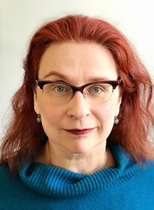 Audrey Niffenegger at Comic-Con 2019, July 18-21 at the San Diego Convention Center