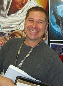 Billy Tucci at Comic-Con 2019, July 18-21 at the San Diego Convention Center