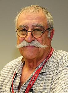 Sergio Aragonés at WonderCon Anaheim 2017, March 31–April 2 at the Anaheim Convention Center