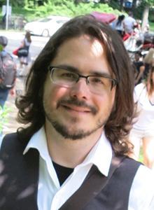 Dave Roman at WonderCon Anaheim 2017, March 31–April 2 at the Anaheim Convention Center
