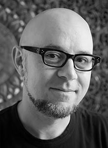 Michael Dante DiMartino at WonderCon Anaheim 2018, March 23–25 at the Anaheim Convention Center