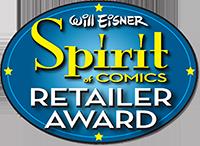 Will Eisner Spirit of Comics Retailer Award 2016