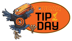 APE 2014 Toucan Tip of the Day