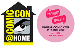 Comic-Con and Thought Bubble Team Up for Online Events