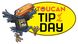Comic-Con International 2014 Toucan Tip of the Day