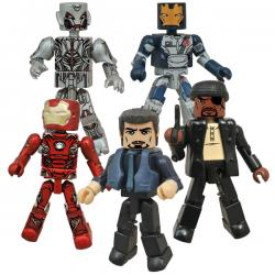 Exclusive Avengers Age of Ultron Marvel Minimates Set of 5