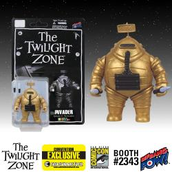 The Twilight Zone Invader 3 3/4-Inch Action Figure in Color - Convention Exclusive