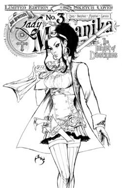 Lady Mechanika Tablet of Destinies #3 SDCC Sketch Edition