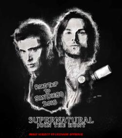 SDCC Exclusive Supernatural T-shirt
