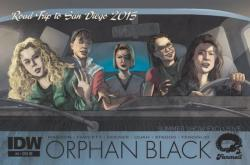SDCC Exclusive Orphan Black Comic Book