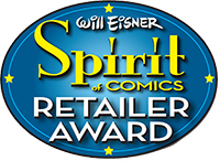 Will Eisner Spirit of Comics Retailer Award 2016