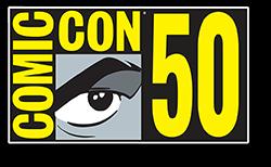 Comic-Con 2019 Souvenir Book Cover
