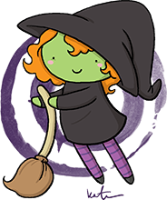 A Halloween Witch