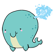 A Valentine's Day Whale