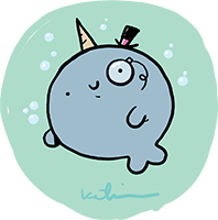 A Classy Narwhal!
