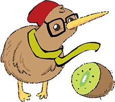 You Can Draw with Katie Cook ... A Hipster Kiwi