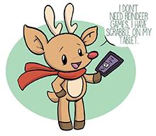 Katie Cook's Modern Rudolph