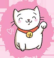 A Lucky Kitty!