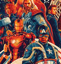 Comic-Con 2018 Mondo Marvel Print
