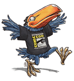 Comic-Con International's Toucan