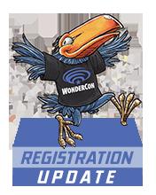 WonderCon 2016 Registration Update