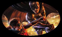 Batman vs. Robin World Premiere at WonderCon Anaheim 2015
