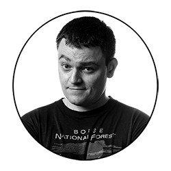 Scott Snyder at WonderCon Anaheim 2018, March 23–25 at the Anaheim Convention Center