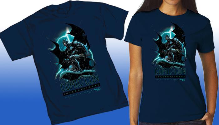 Comic-Con International 2014 Batman 75th T-shirt