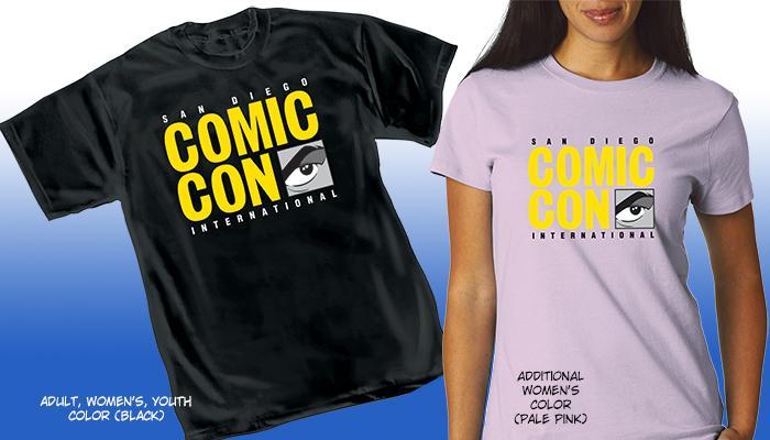 Comic-Con International 2014 Logo T-Shirt