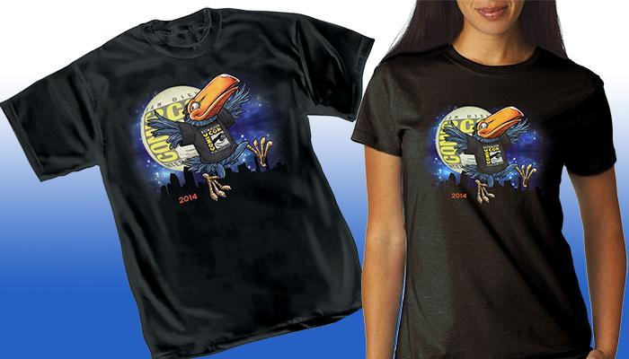 Comic-Con International 2014 Toucan T-Shirt