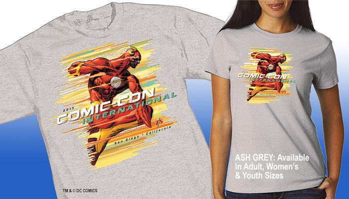 Comic-Con International 2015 Flash T-shirt