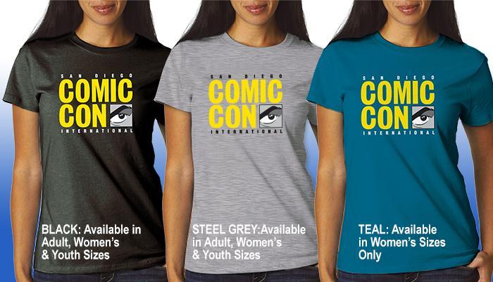 Comic-Con International Logo T-shirt