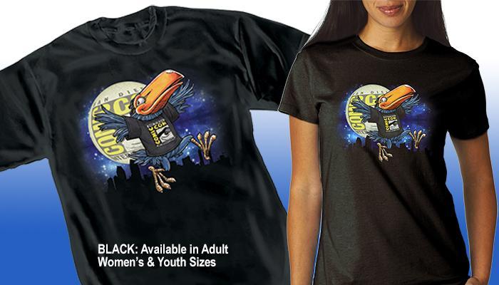 "Comic-Con International Toucan ""Moon"" T-shirt"