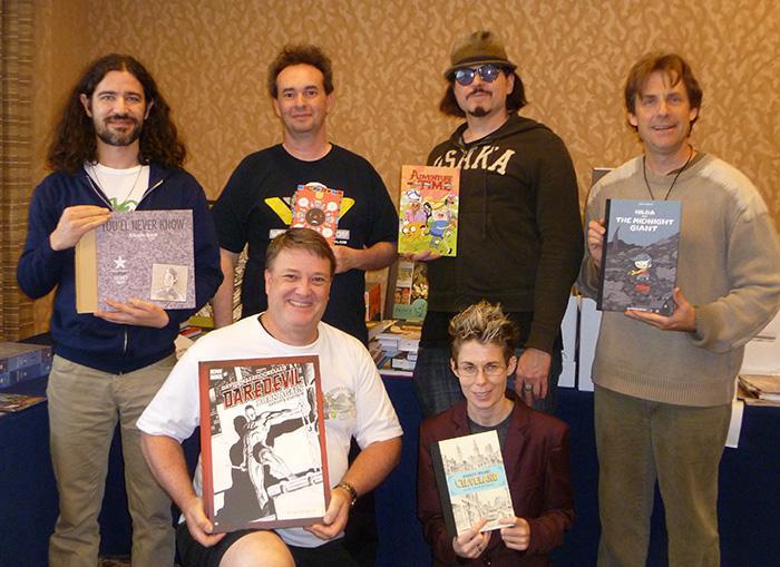 2013 Will Eisner Comic Industry Award Judges