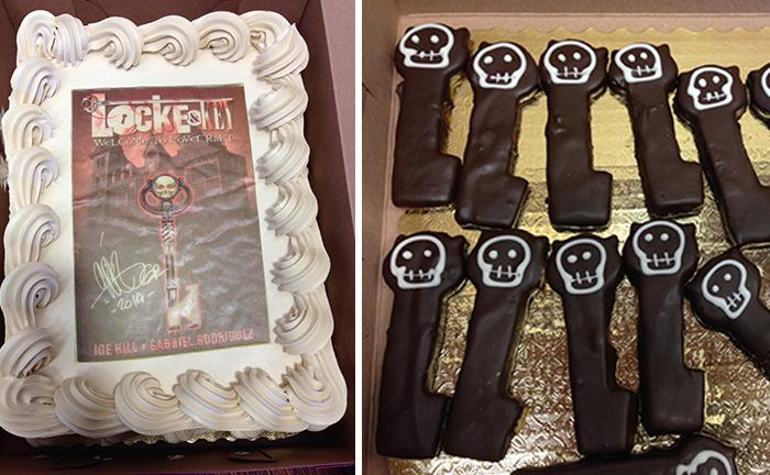 Randy's Locke and Key-themed Goodies