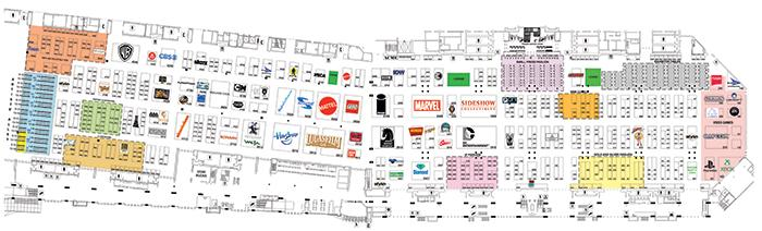CCI 2013 Exhibit Hall Map