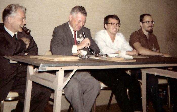 Klaus Nordling, Otto Binder, Larry Ivie, and Ted White