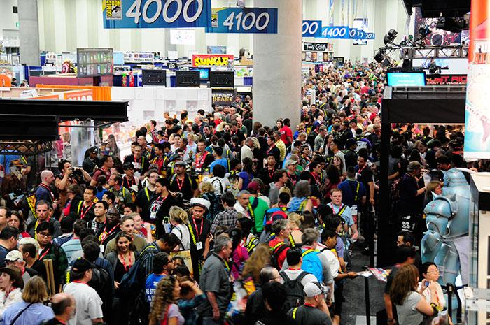Comic-Con Exhibit Hall