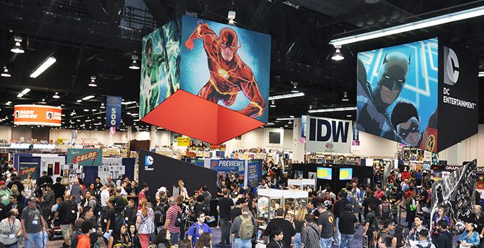 WonderCon Anaheim 2014 Exhibit Hall