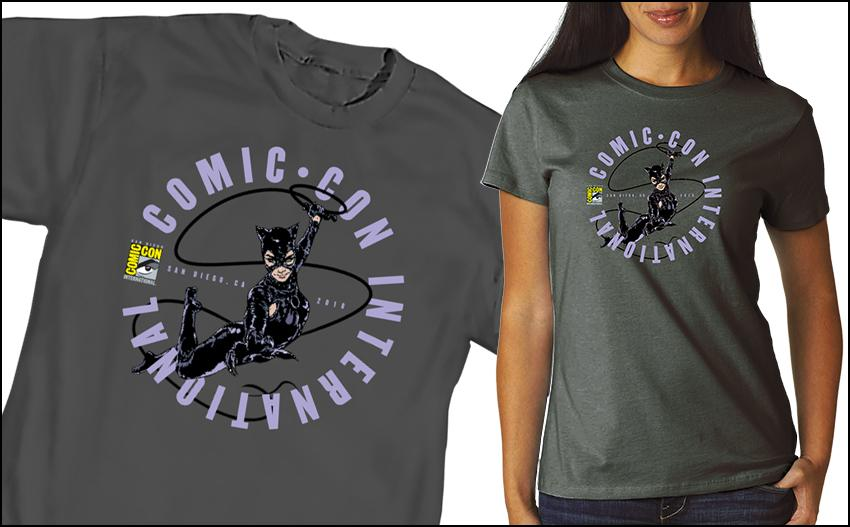 Comic-Con International 2018 Official T-shirts and Merchandise