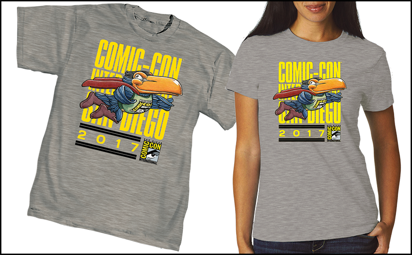 Comic-Con International 2017 Official T-shirts and Merchandise