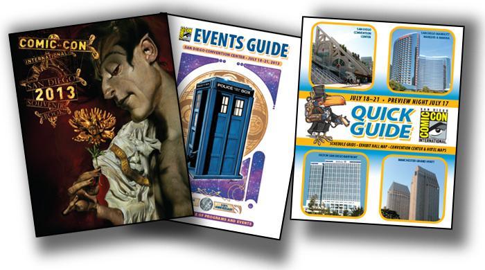 Comic-Con International Publications