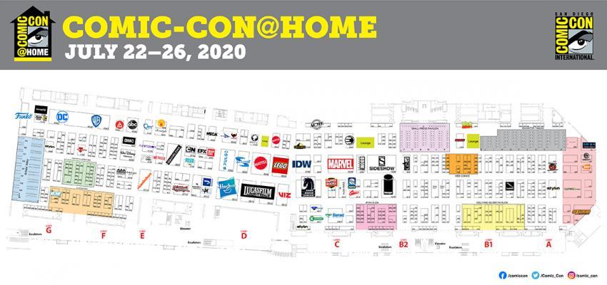 Comic-Con@Home 2020 Online Exhibit Hall