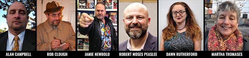 2017 Will Eisner Comic Industry Awards Judges