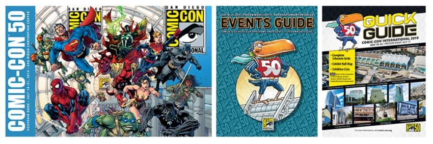 Comic-Con 2019 Publications