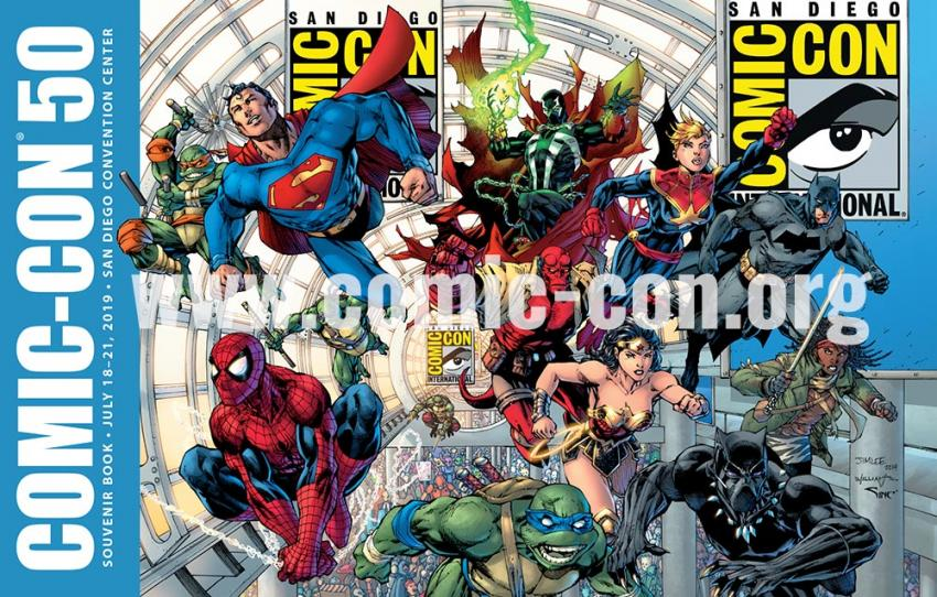 Comic-Con 2019 Souvenir Book Cover