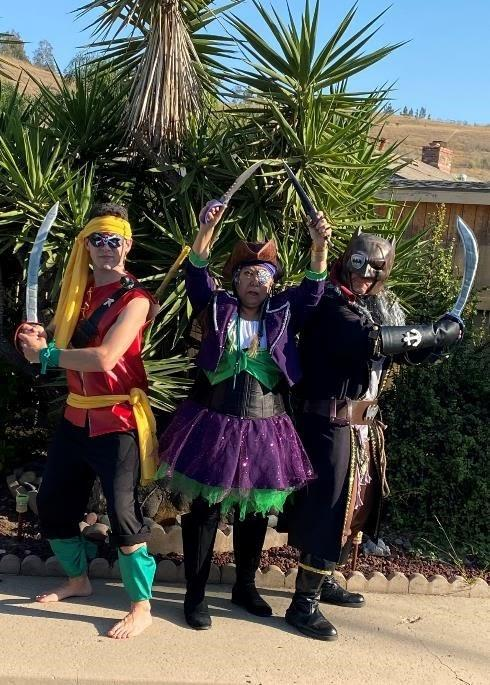 """Most Humorous: """"Yo, Ho, Yo, Ho, A Batman's Life for Me"""" by Jeanie Lopez, with Lucas and Joe Queen"""