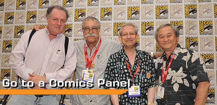 Go to a Comics Panel
