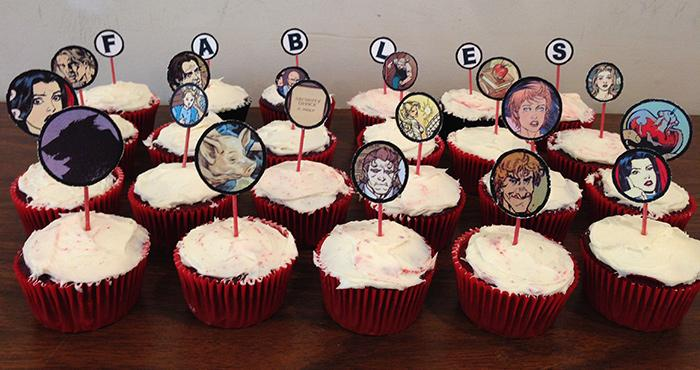 Fables cupcakes