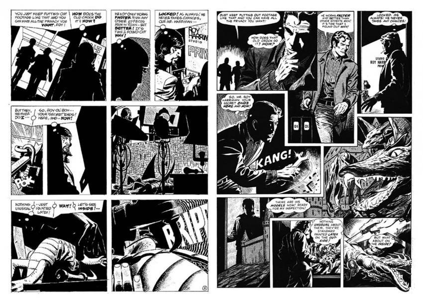 Alex Toth and Dan Adkins in Creepy #123